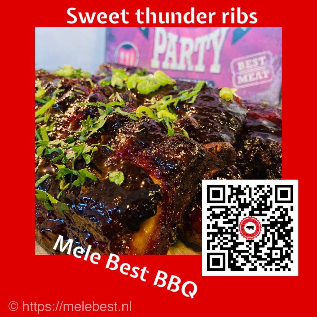 Sweet Thunder ribs van Mele Best